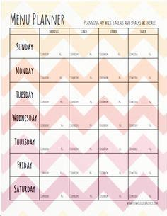 Meal Planning Templates On Pinterest Meal Planner Monthly Meal Planner And Meal Planning Paleo Meal Planning Template