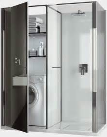 laundry in bathroom ideas compact laundry shower cabin combo for small spaces by