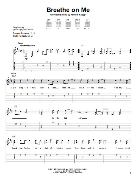 Breathe Me Guitar Chords