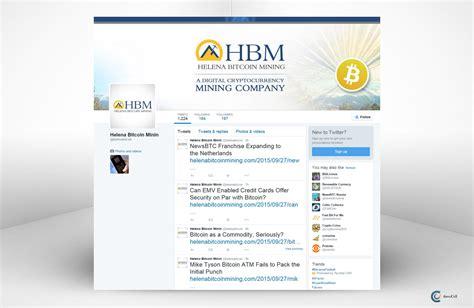 bitcoin twitter helena bitcoin mining twitter social media design