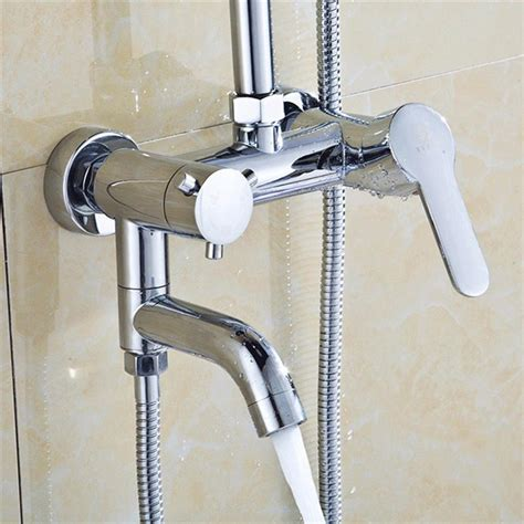 hot water in bathroom sink but not shower wall mounted bathtub shower water tap hot cold shower mixer faucet chrome brass