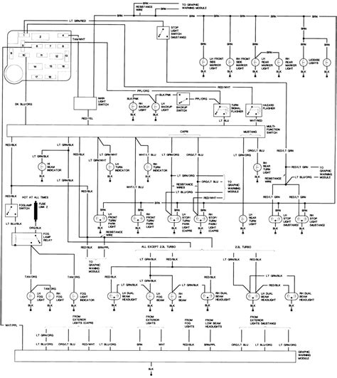 mustang headlight switch wiring diagram wiring diagram