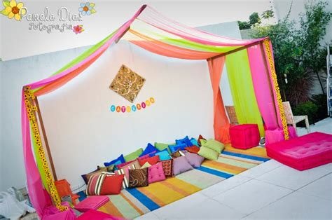 Barbie Games Room Decoration - espa 231 o da festa indiana para crian 231 as festa infantil