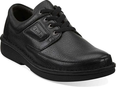 Sepatu Clark Active Air s clarks natureveldt active air slip resistant lace up black shoes 62082 ebay