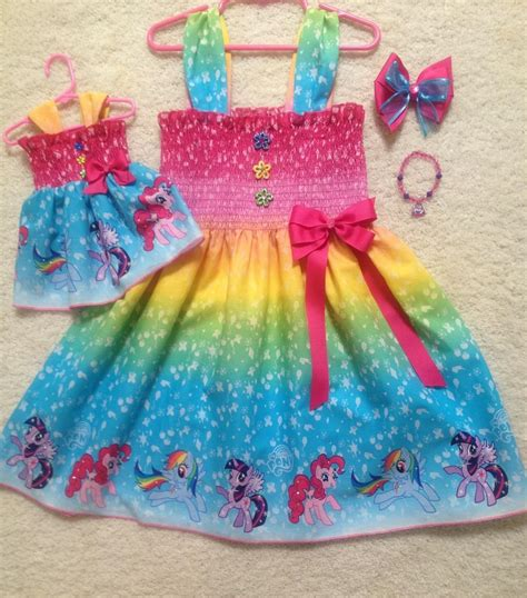 Handmade Dresses For Toddlers - handmade my pony dress toddler 2t 8y