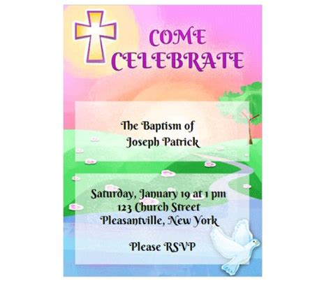 printable church invitation cards pinterest the world s catalog of ideas