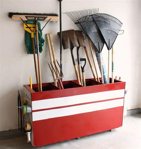 Garage Storage For Shovels 12 Tips For Diy Garage Organization
