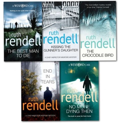 No More Dying Then ruth rendell inspector wexford collection series 5 books set end in tears no more dying then
