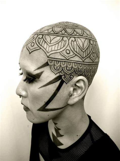 scalp tattoo designs 73 best images on tattoos