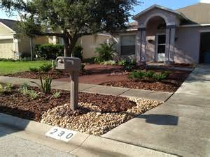 Backyard Landscaping Ideas For Small Yards Investment Home In Valrico Fl Florida Grassless Yards