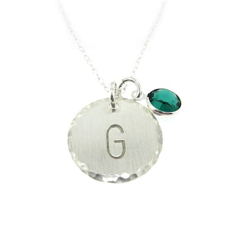 aj s collection personalized jewelry monogram sterling