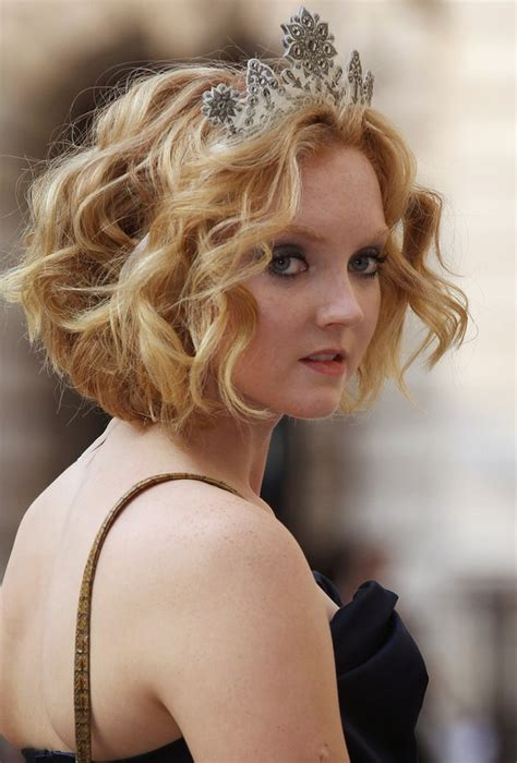 Curly Bob Wedding Hairstyles by Cole Wavy Curly Bob Hairstyle For
