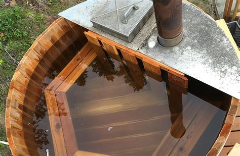 Wood Fired Bathtub by The Tiny House Accessory A Diy Wood Fired Tub
