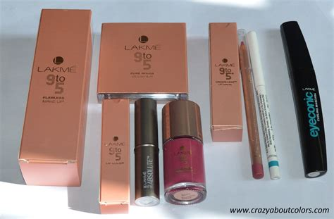 Makeup Lakme Lakme 9to5 Makeup Kit With Mugeek Vidalondon