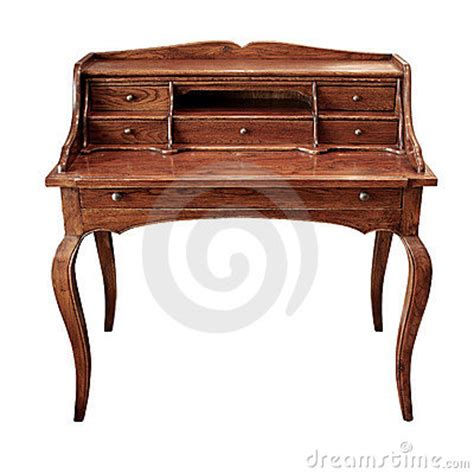 old timey desks antique desk royalty free stock photography