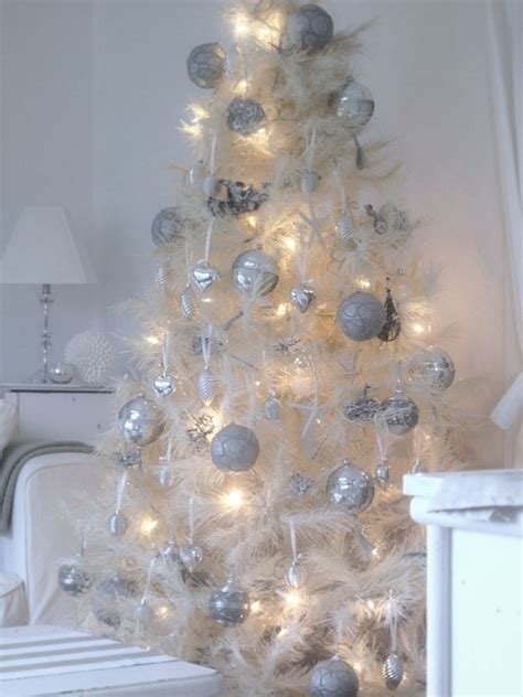 all white christmas tree pictures photos and images for