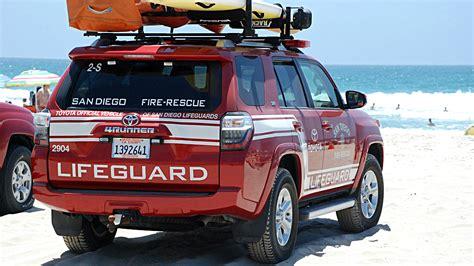 san diego adoption toyota offers new lifeguard vehicles to san diego times of san diego