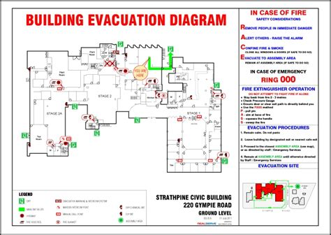 fire evacuation plan best free home design idea