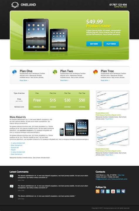 34 best landing page templates design inspiration