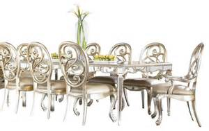 Jessica Mcclintock Dining Room Set by American Drew Jessica Mcclintock 10 Piece Leg Mirrored