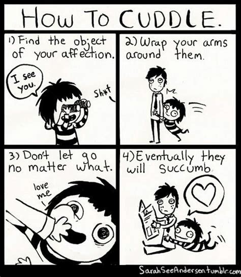Cuddle Buddy Meme - 1000 ideas about sarah see andersen on pinterest sarah