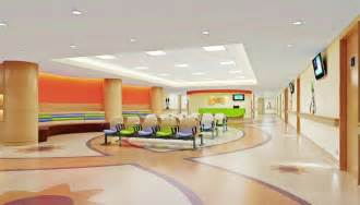 children s hospital lobby interior