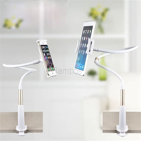 iphone holder for bed 360 rotating flexible long arm cell phone holder stand