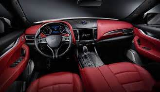 Interior Of Maserati Levante