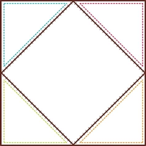 Blank Quilt Squares by Quilt Squares Jumbo Designer Cut Outs