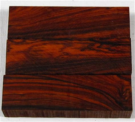 cocobolo wood for sale knife handle blocks