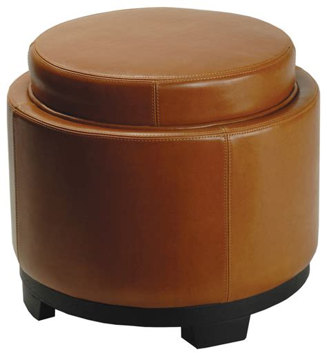 round footstool ottoman safavieh round storage tray ottoman footstools and
