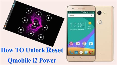 how to unlock pattern qmobile i5 how to unlock password hard reset qmobile i2 poweri3 i4 i5