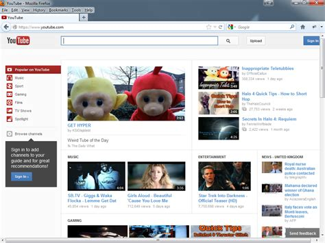 new youtube layout firefox is there a reason behind gratuitous use of whitespace on