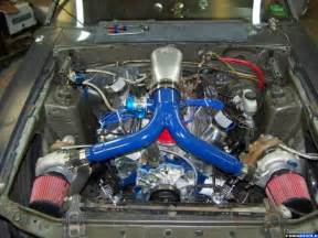 SBC Turbo Kit Carb Ford 302 Twin Turbo Kit