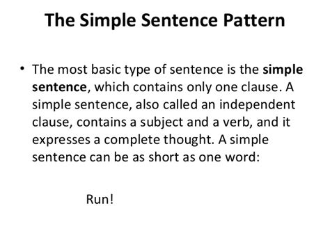 pattern if clause type 1 phrase clause and sentence