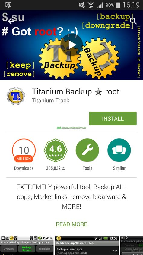 how to open apps on android guide how to backup restore android apps data root required howto highonandroid