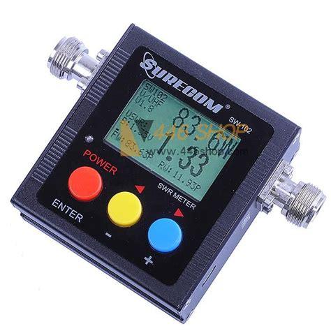 Swr Meter Digital surecom surecom sw 102 digital power meter swr meter frequency counter radio accessory swr meter