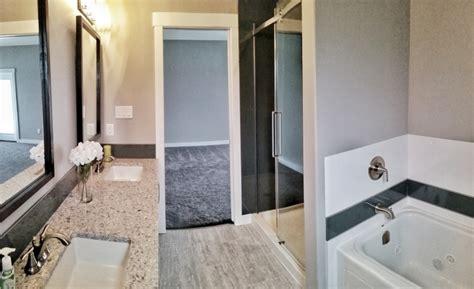 how much to build an ensuite bathroom custom home build master ensuite bathroom halcyon homes ltd regina sask