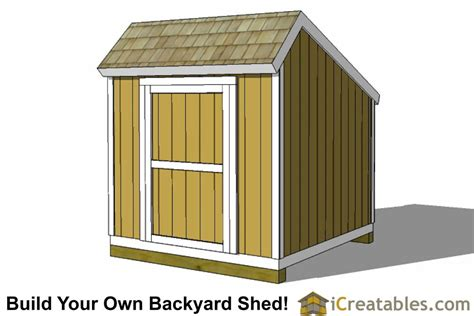How To Build An 8x8 Shed by 8x8 Storage Shed Plans Easy To Build Designs How To