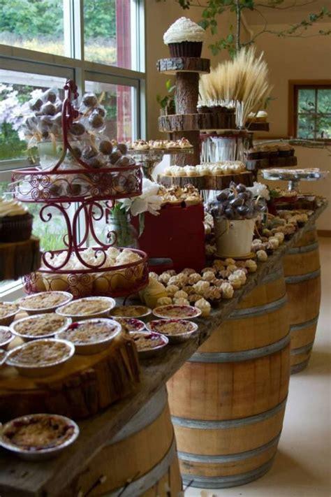Buffet rustico chic para bodas   ????????? ?????????