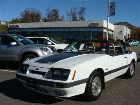 1985 mustang specs 1985 ford mustang gt convertible data info and specs