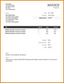 draft invoice template 5 how to write an invoice for freelance work daily task