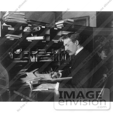 forest service help desk stock photography of gifford pinchot seated and writing at