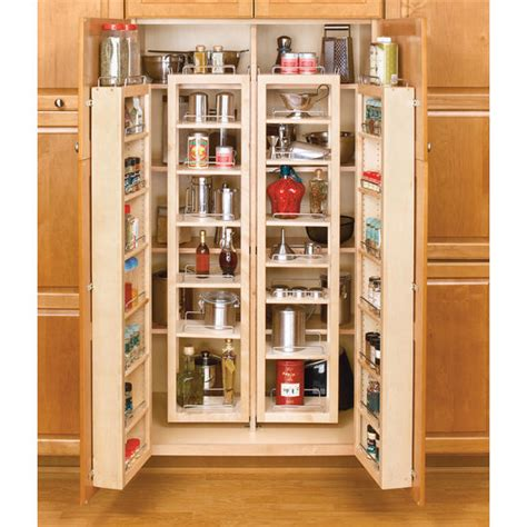 tall kitchen cabinets pantry rev a shelf swing out tall kitchen cabinet chef s pantries kitchensource com