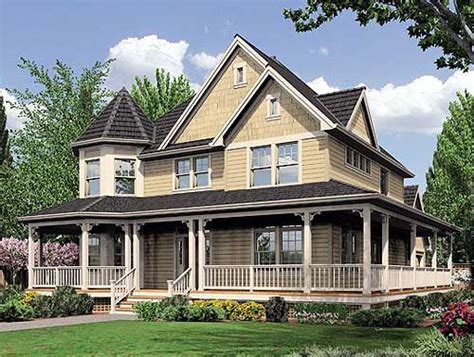 Farmhouse House Plans With Wrap Around Porch by Plan W6908am Fabulous Wrap Around Porch E Architectural