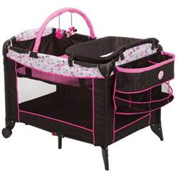 playpen with changing table playpen baby crib portable minnie mouse pink bassinet