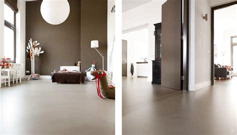 Fitness Vloer Thuis by Betonlook Vloer Warme En Industri 235 Le Look Senso Gietvloeren