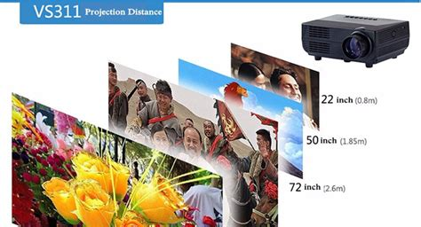 Proyektor Mini Led 60 Lumens 480p With Tv Receiver Murah proyektor mini led 60 lumens 480p with tv receiver vs311