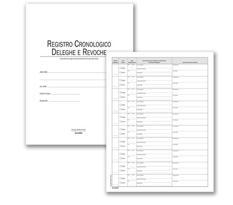 delega revoca cassetto fiscale registro cronologico fatturazione elettronica deleghe e