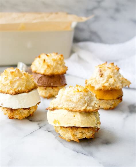 Summer Of Sandwiches Coconut Macaroon Creme Brulee by Coconut Macaroon Sandwiches